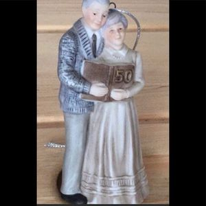 50 years anniversary decoration or cake topper